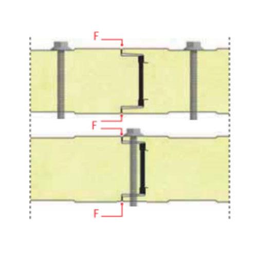 montaje de fachada tornilleria vista
