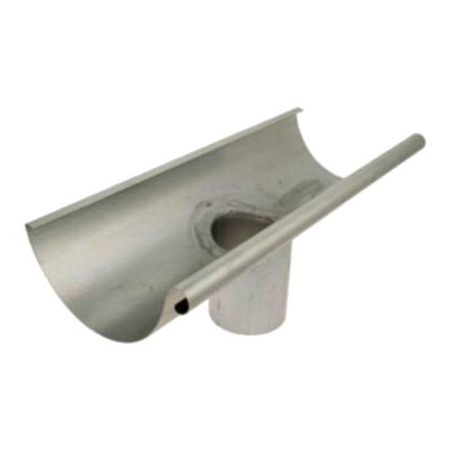 Canalón semicircular con salida-size