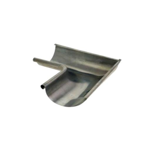 Inglete canalón semicircular-size